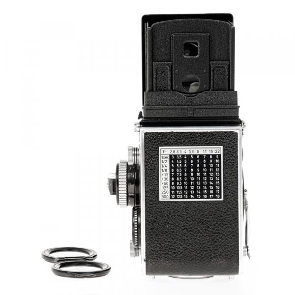 Rolleiflex 3.5 F ,Carl Zeiss-Plannar 1/3,5 F-75 mm 4