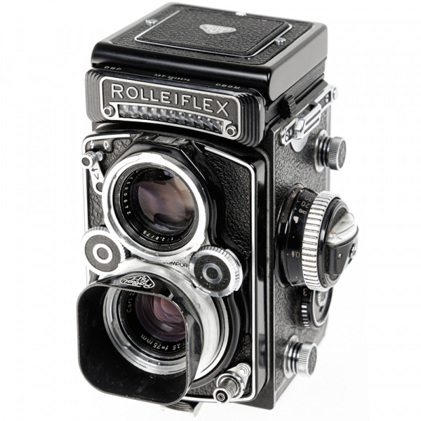 Rolleiflex 3.5 F ,Carl Zeiss-Plannar 1/3,5 F-75 mm 9