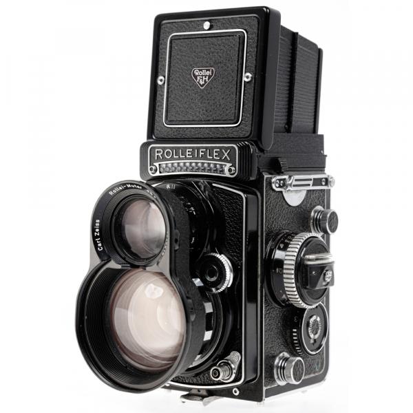 Rolleiflex 3.5 F ,Carl Zeiss-Plannar 1/3,5 F-75 mm 7