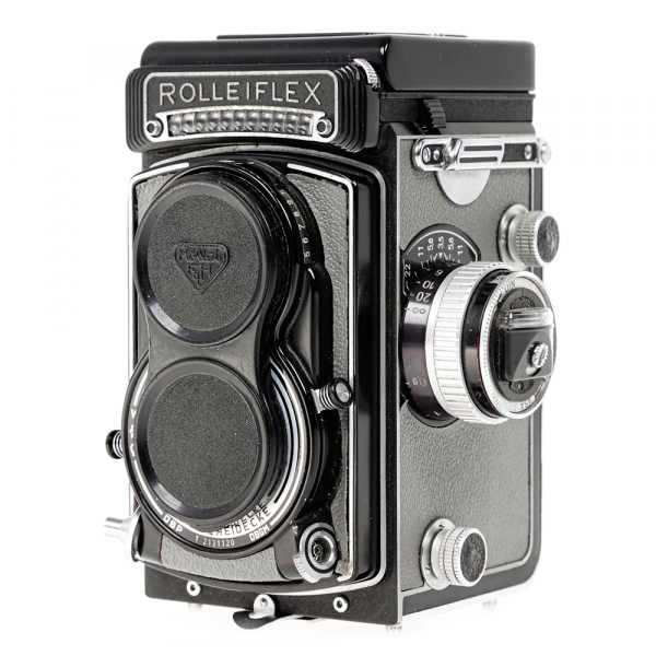 Rolleiflex T- Grey, Carl Zeiss-Tessar 1/3.5 F-75mm 4