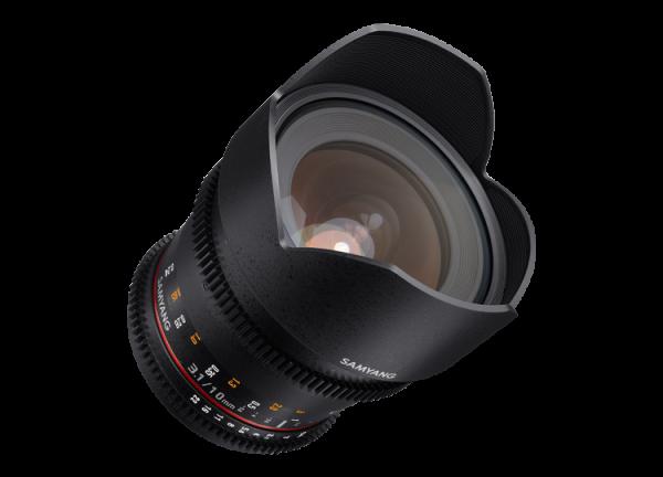 Samyang 10mm T3.1 VDSLR ED AS NCS CS II - Canon EF-S 4