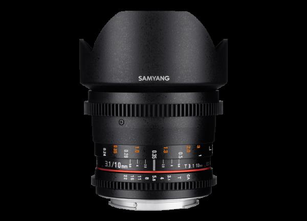 Samyang 10mm T3.1 VDSLR ED AS NCS CS II - Canon EF-S 0