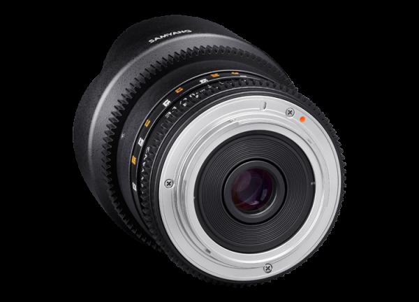 Samyang 10mm T3.1 VDSLR ED AS NCS CS II - Canon EF-S 2