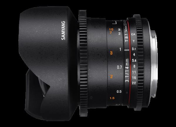 Samyang 14mm T3.1 VDSLR ED AS IF UMC II - Canon EF [1]