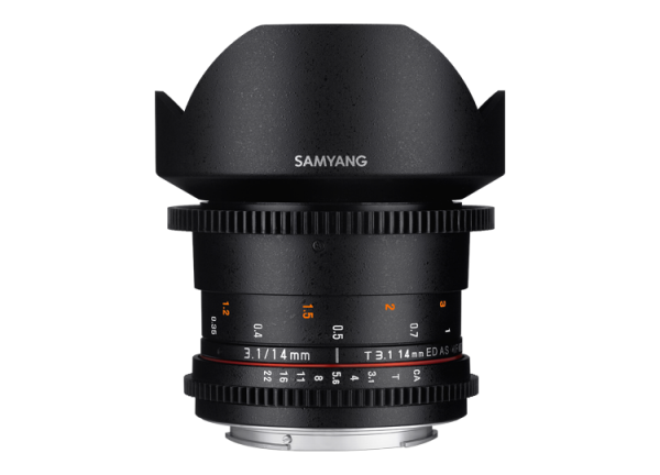 Samyang 14mm T3.1 VDSLR ED AS IF UMC II - Nikon F [0]
