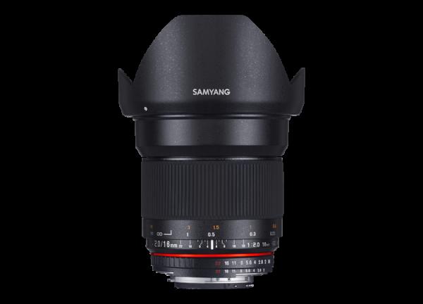 Samyang 16mm f/2 ED AS UMC CS - Canon EF-S 0