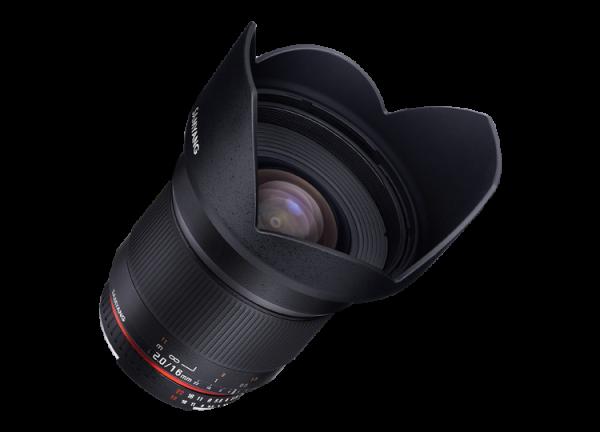Samyang 16mm f/2 ED AS UMC CS - Canon EF-S 4