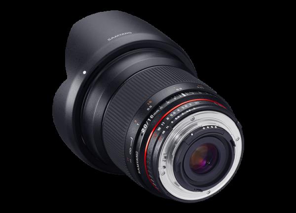 Samyang 16mm f/2 ED AS UMC CS - Canon EF-S 2
