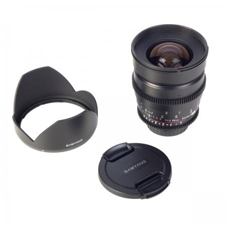 Samyang 24mm T1.5 VDSLR - montura Canon EF 4