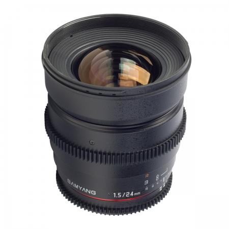 Samyang 24mm T1.5 VDSLR - montura Canon EF 0