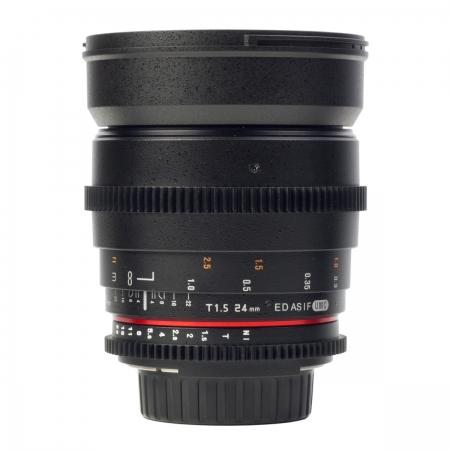 Samyang 24mm T1.5 VDSLR - montura Canon EF 2