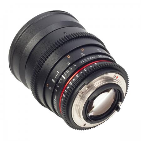 Samyang 24mm T1.5 VDSLR - montura Nikon 2