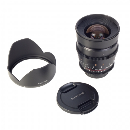 Samyang 24mm T1.5 VDSLR - montura Nikon 4