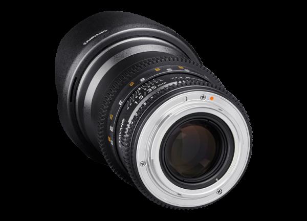 Samyang 35mm T1.5 VDSLR AS UMC II - Canon EF 2