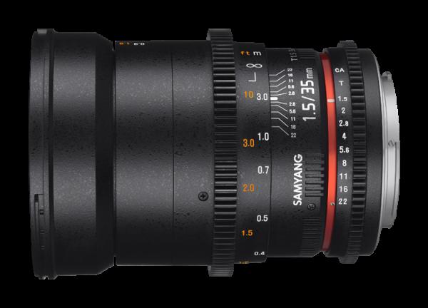 Samyang 35mm T1.5 VDSLR AS UMC II - Canon EF 1