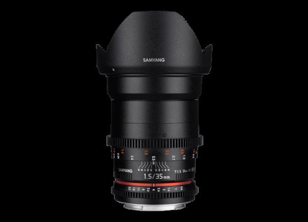 Samyang 35mm T1.5 VDSLR AS UMC II - Canon EF 0