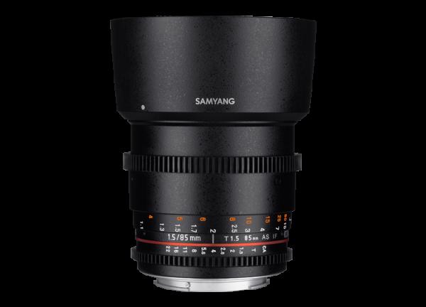 Samyang 85mm T1.5 VDSLR AS IF UMC II - Nikon F - Cine Lens 0