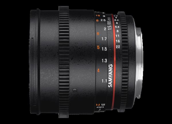 Samyang 85mm T1.5 VDSLR AS IF UMC II - Nikon F - Cine Lens 1