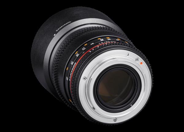Samyang 85mm T1.5 VDSLR AS IF UMC II - Nikon F - Cine Lens 2