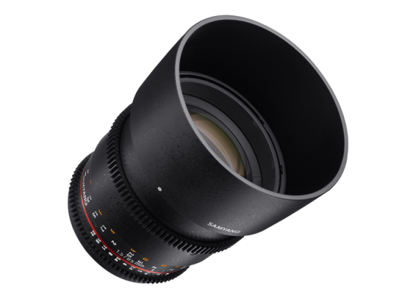 Samyang 85mm T1.5 VDSLR AS IF UMC II - Nikon F - Cine Lens 4