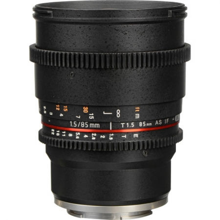 Samyang 85mm T1.5 VDSLR AS IF UMC II - Sony FE 2