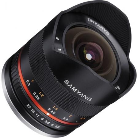 Samyang 8mm Fisheye F2.8 II Sony E negru 2