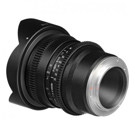 Samyang 8mm T3.8 VDSLR CSII - obiectiv Fish-eye montura Sony E 2
