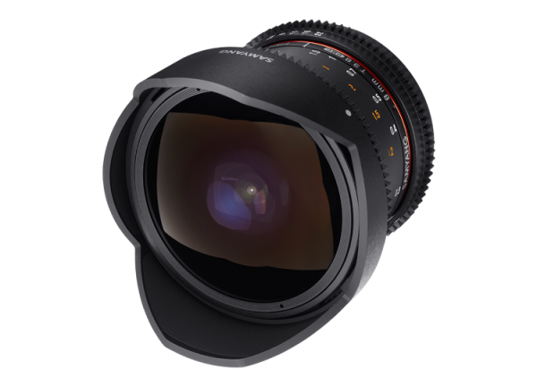 Samyang 8mm T3.8 VDSLR UMC Fish-eye CS II - Canon EF-S - Cine Lens 3