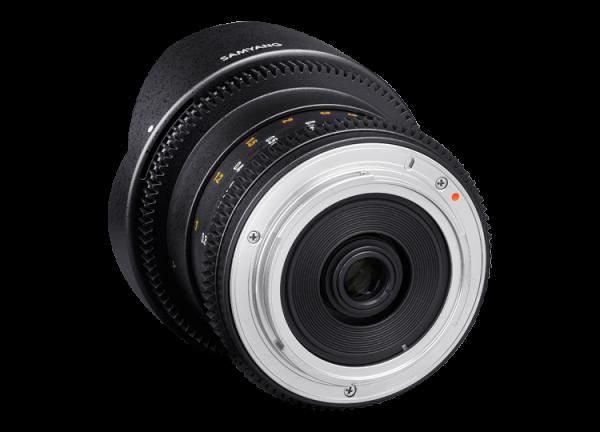 Samyang 8mm T3.8 VDSLR UMC Fish-eye CS II - Canon EF-S - Cine Lens 2