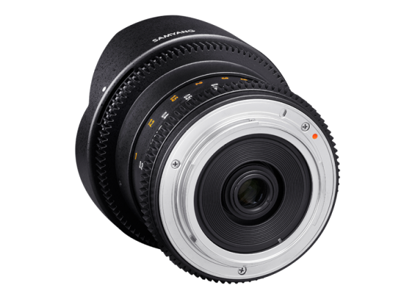 Samyang 8mm T3.8 VDSLR UMC Fish-eye CS II - Nikon F - Cine Lens 2