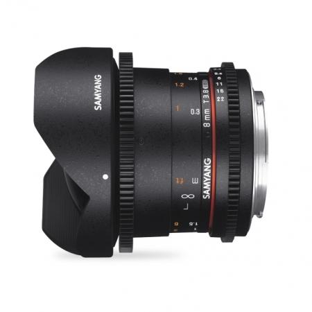 Samyang 8mm T3.8 VDSLR UMC Fisheye CS II - Micro 4/3 3