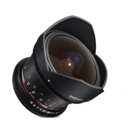 Samyang 8mm T3.8 VDSLR UMC Fisheye CS II - Micro 4/3 1