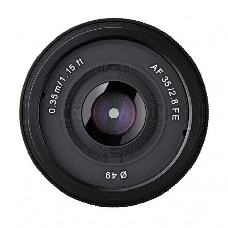 Samyang AF 35mm F2.8 - Sony FE, Negru 4
