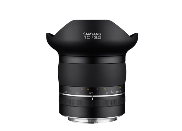 Samyang XP 10mm f/3.5 - Canon EF - Premium Manual Focus 1