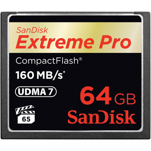SanDisk Extreme Pro CF 64GB, 160MB/s (SDCFXPS-064G-GN6) 0