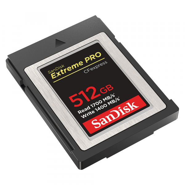 SanDisk Extreme PRO CFexpress Type B 512GB (SDCFE-512G-ANCIN) 1
