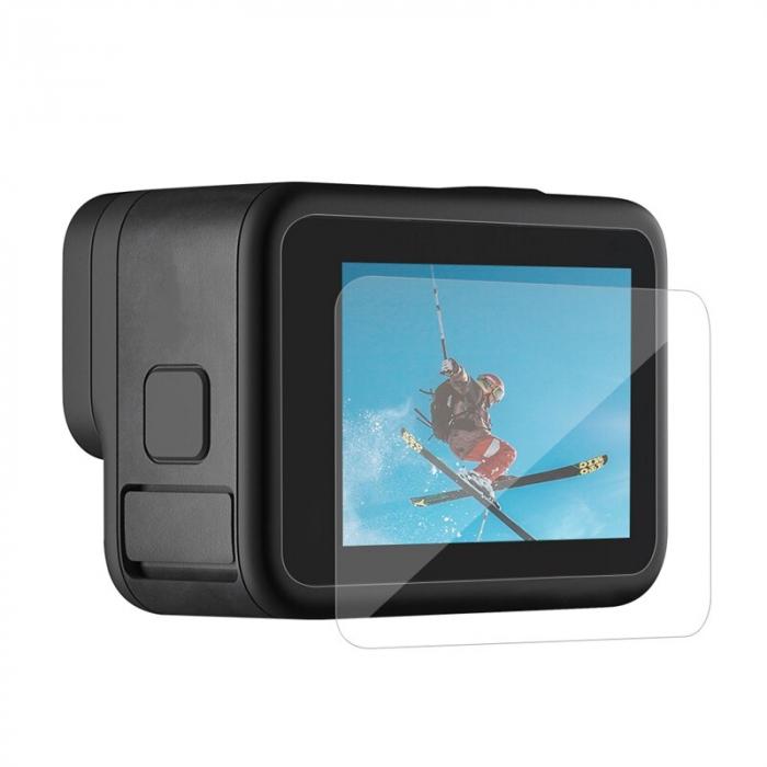 Set folii de protectie pentru ecranele GoPro Hero 9 transparent - negru - GP-FLM-901 [3]