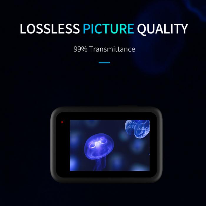 Set folii de protectie pentru ecranele GoPro Hero 9 transparent - negru - GP-FLM-901 [7]
