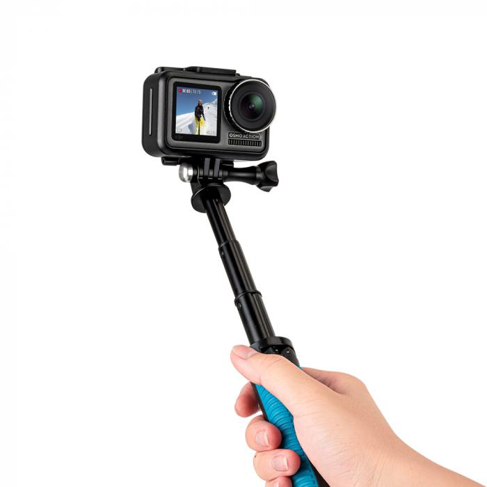 Mini trepied portabil Selfie Stick telescopic pentru GoPro Hero 9, DJI Osmo Action - OA-SJJ-001 [5]
