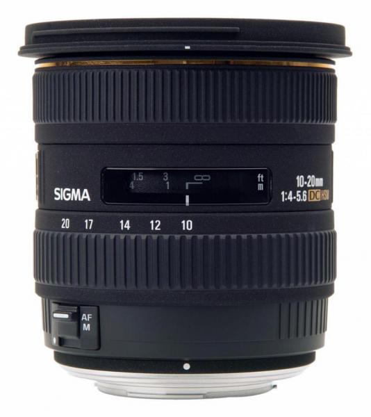 Sigma 10-20mm f/3.5 EX DC HSM - montura Canon EF-S 0