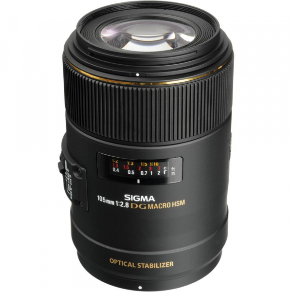 Sigma 105mm f/2.8 EX DG OS HSM Macro - montura  Nikon [0]
