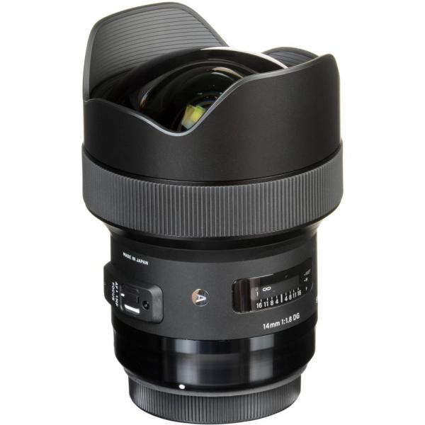 SIGMA 14mm f/1.8 DG HSM ART- Canon EF 7