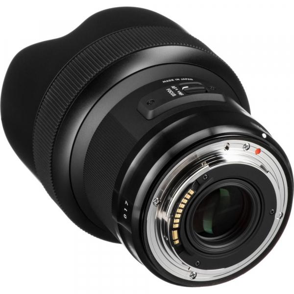 SIGMA 14mm f/1.8 DG HSM ART- Canon EF 5