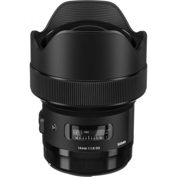 SIGMA 14mm f/1.8 DG HSM ART- Canon EF 1