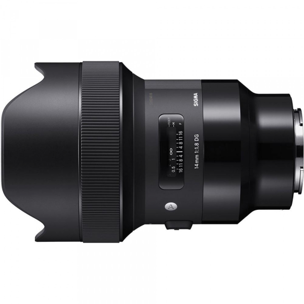 Sigma 14mm f/1.8 DG HSM ART - obiectiv Mirrorless montura Sony E 1