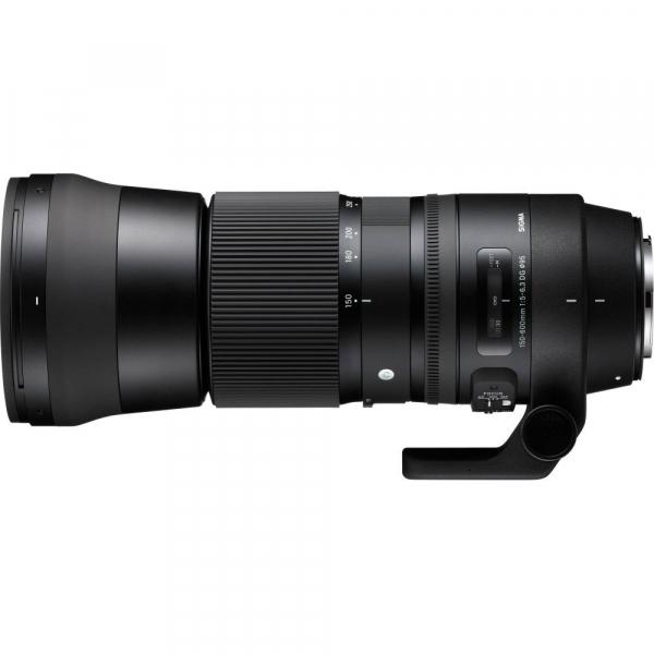 Sigma 150-600mm f/5-6.3 DG OS HSM Canon - Contemporary + teleconvertor Sigma 1.4x TC-1401 2