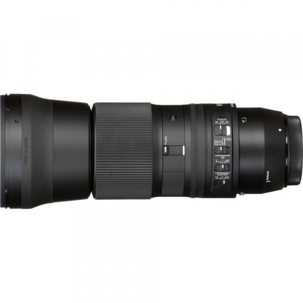 Sigma 150-600mm f/5-6.3 DG OS HSM Nikon - Contemporary + teleconvertor Sigma 1.4x TC-1401 4