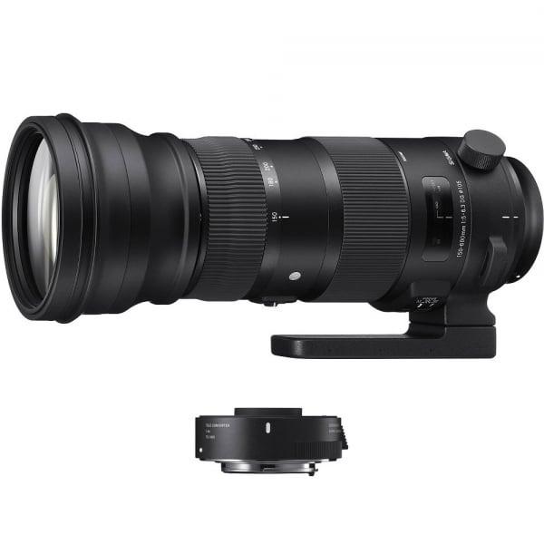Sigma 150-600mm f/5-6.3 OS Nikon [S] Sport kit cu Sigma TC-1401 1.4x 0