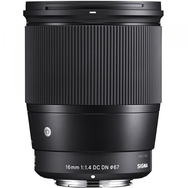 Sigma 16mm f/1.4 DC DN Contemporary obiectiv Mirrorless montura Canon EF-M 1