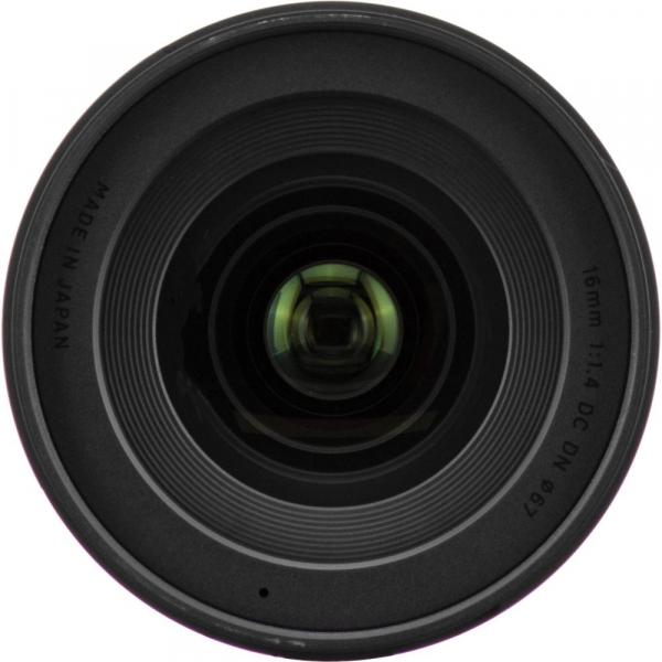 Sigma 16mm f/1.4 DC DN Contemporary obiectiv Mirrorless montura Canon EF-M 6